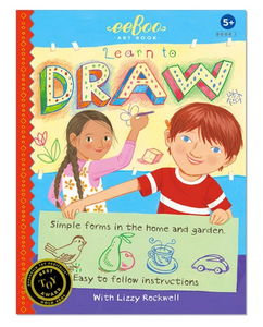 Learn to Draw Simple Forms Art Book