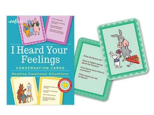 I Heard Your Feelings Flash Cards