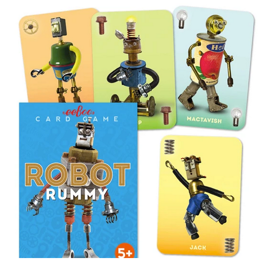 Robot Rummy Card Game
