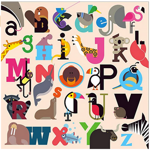 Animals A to Z 500 pc Puzzle