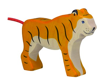 Holztiger Jungle Animals