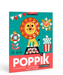 Poppik Sticker Panorama Circus