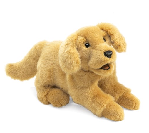 Golden Retriever Puppy Puppet