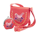 Embroidered Bag and Purse