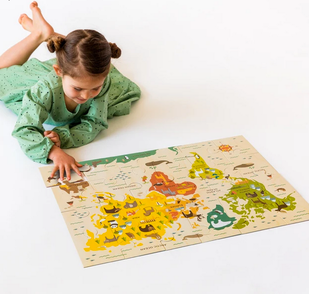 Our World 24 pc Floor Puzzle