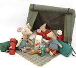 Happy Camper Tent for Mice