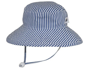 Sunbaby Hat Blue Stripe