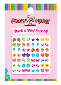 Piggy Paint Stick and Stay Earrings