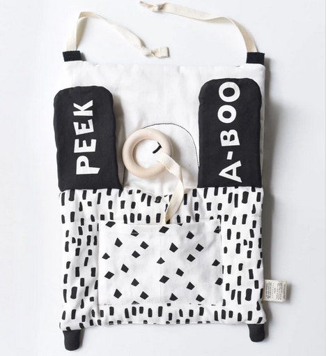 Peekaboo Panda Organic Activity Pad