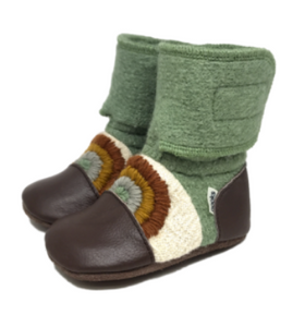 Nooks Wool Booties Good Vibes