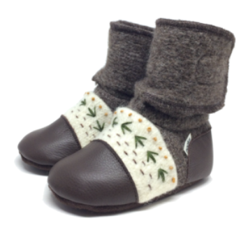 Nooks Wool Booties Carmanah