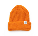 Minimal Orange Tuque