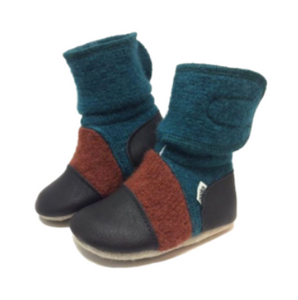 Nooks Wool Booties Mistral
