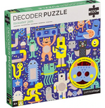 Monster Jam 100 pc Decoder Puzzle
