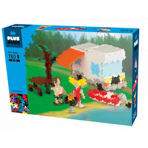 Plus Plus - Camping 760 pc Set