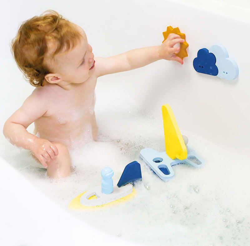 Quutopia Sail Away Bath Puzzle