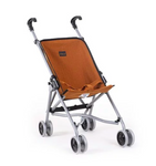 Doll Stroller in Cognac