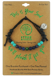 Black Walnut Bracelet - 1 Tree Mission®