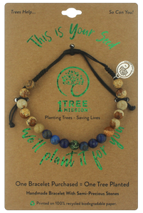Blue Spruce Tree Bracelet  - 1 Tree Mission®