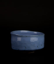 Load image into Gallery viewer, Chawan with Blue glaze by Matthias Kaiser
