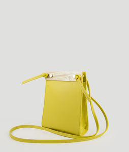 Gwyneth S Fresh yellow green with Horn