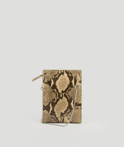 Gwyneth S Snake print with Horn