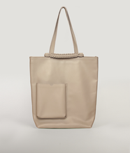 Load image into Gallery viewer, Pazar Book Tote Beige Taupe