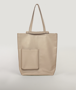 Pazar Book Tote Beige Taupe