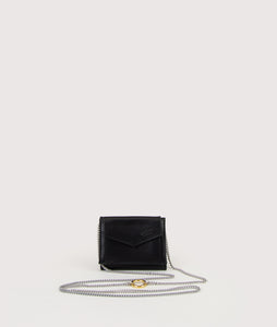 Triptych wallet-bag black