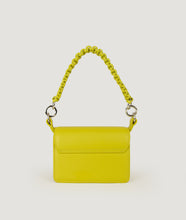 Load image into Gallery viewer, Crossbody S yellow green with horn