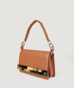 Crossbody M Miele with mosaic horn