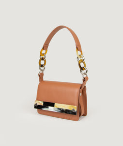 Crossbody S Miele with Mosaic horn