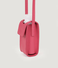 Load image into Gallery viewer, SAGAN Vienna x OFFICE with KOEKKOEK - small hand sanitizer bag in fuchsia. With every purchase you are supporting Kayayei girls and women who are affected by the COVID-19 outbreak.