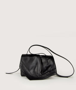 Scarf crossbody S black