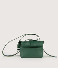 Load image into Gallery viewer, Scarf crossbody S green-white