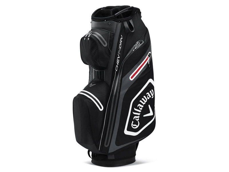 CALLAWAY CHEV DRY 14 CARTBAG - BLACK/ CHARCOAL