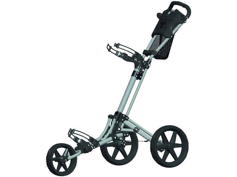 FASTFOLD TRIKE 2.0 3-WHEEL GOLFTROLLEY (MATT GRIJS/ZWART)