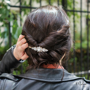 Barrette Perles Kate
