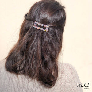 Barrette Résine Rectangle Palais Royal