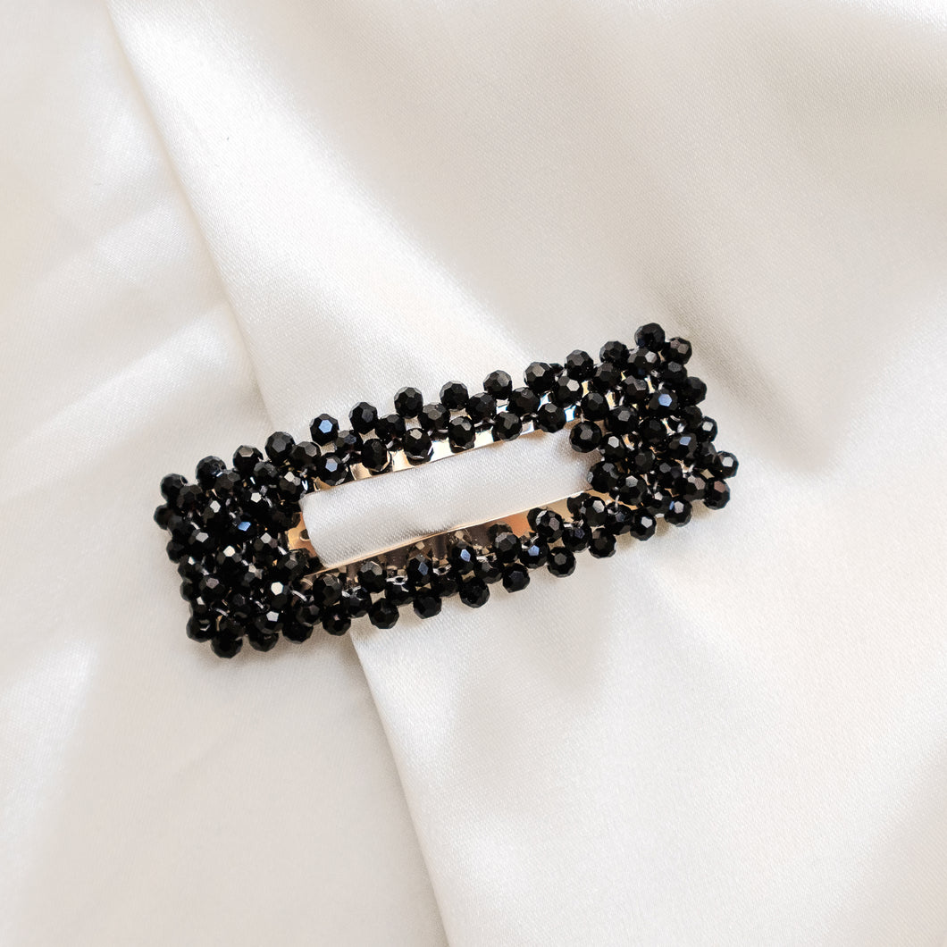 Barrette Strass Smoking