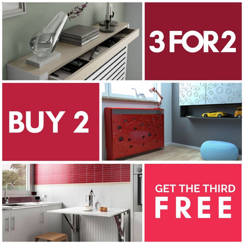 3 FOR 2 PROMOTION - buy two prodcuts and get the third one FREE