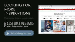 If you are looking for more designer products head up to our Distinc Designs webite where you will find hundreds of furniture & accessories