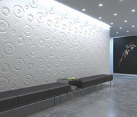 Decorative 3D Textured Feature Wall Panels with Modern Oversized DROP Design-Wall Panelling > Decorative Wall Panels > Textured Wall Panels > 3D Wall Panels > Feature Wall Covering-RadiatorCoversShop.com