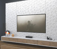 Decorative 3D Textured Feature Wall Panels with Ultramodern MOON Design-Wall Panelling > Decorative Wall Panels > Textured Wall Panels > 3D Wall Panels > Feature Wall Covering-RadiatorCoversShop.com