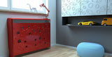 Children Design Bespoke Radiator Cabinet Cover with Cool CARS for Kids Bedroom Nursery Playroom-Radiator Covers > Enclosed Radiator Cabinets > Children Designs Heater Cabinets > Radiator Casing for Kids Safety > Nursery Radiator Casing > Playroom Radiator Boxing > Cool Radiator cover baby room-RadiatorCoversShop.com