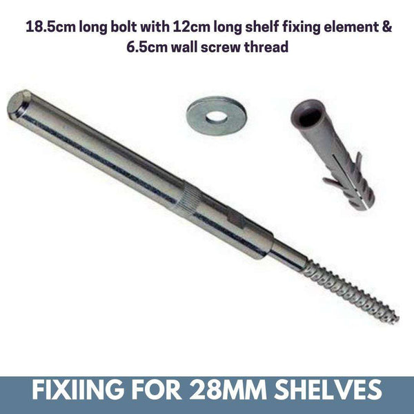 Radiator top shelf brackets concealed floating fixings suitable for 2.8cm thick shelves Pack of 2-Radiator Shelf > Shelves above Radiator > Radiator Heater Shelves > Custom Made Radiator Shelves > Made to Measure Windowsills > Floating Bolts for Shelves above Radiator Covers-RadiatorCoversShop.com