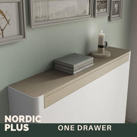 Modern Floating Radiator Heater Cover NORDIC ARROWS Metal Cabinet design flush wood top Ref RCNR236-Radiator Covers > Floting Radiator Cabinets > Drawer Radiator Cover > Modern Radiator Covers > Designer Radiator Covers > Custom Made Heater Cover > Wall Mounted Covers > Made toMeasure Radiator Cover-RadiatorCoversShop.com