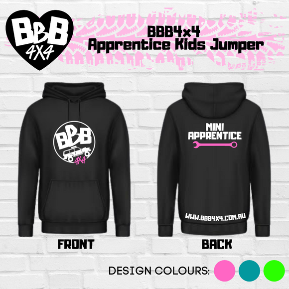 BBB4X4 Apprentice Kids Jumper