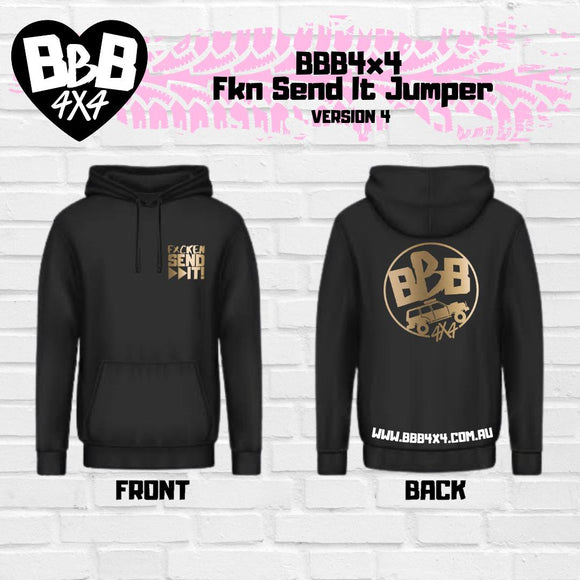 BBB4X4 Fkn Send It Jumper | Limited Edition