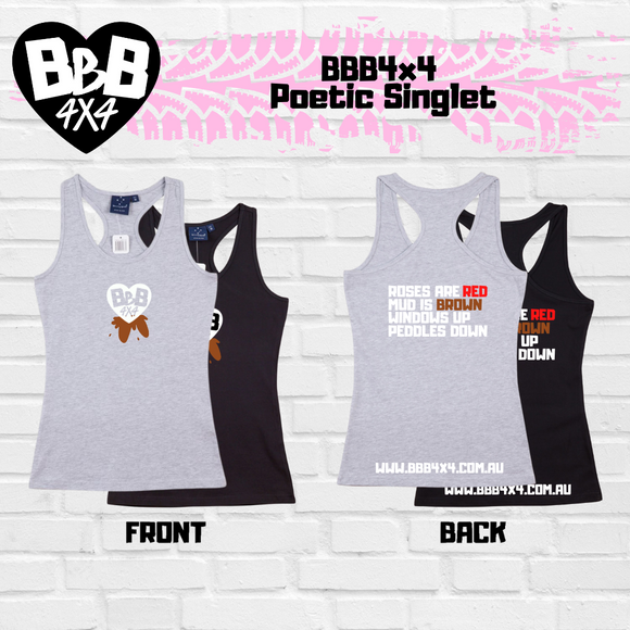 BBB4X4 Poetic Singlet | Female